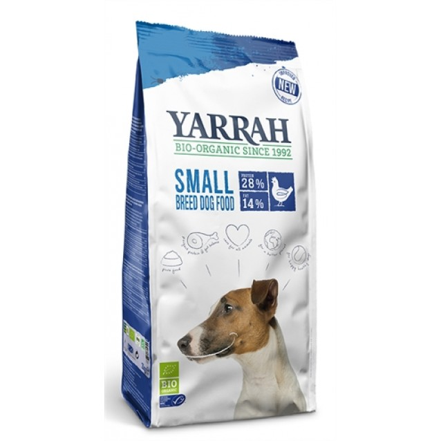 Yarrah dog biologische brokken small breed kip