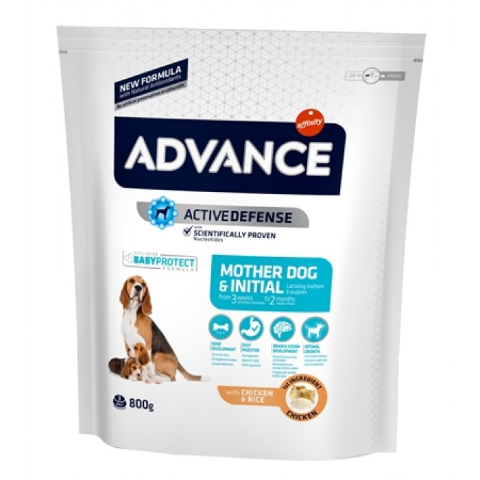 Advance puppy protect initial