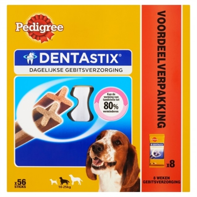 Pedigree dentastix medium actiepack