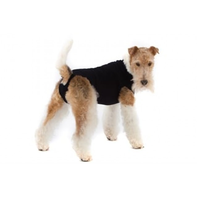 Suitical recovery suit hond zwart