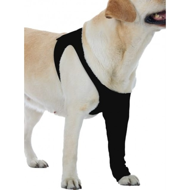 Suitical recovery sleeve hond zwart