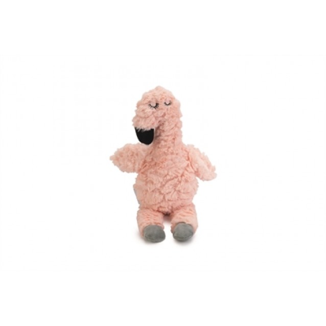 Beeztees puppy knuffel flamingo roze