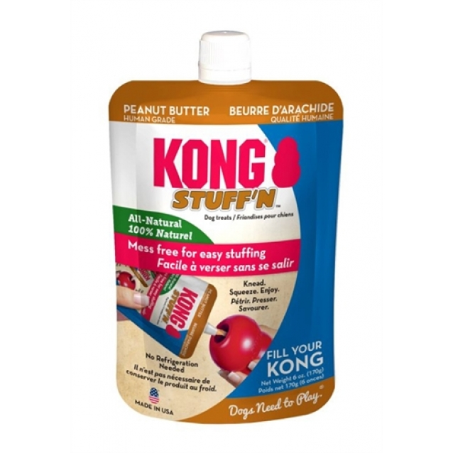 Kong stuff'n all natural pindakaas