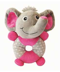 Little rascals pluche speelring olifant