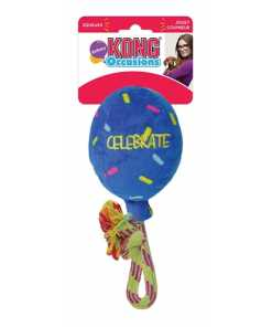 Kong occasions birthday balloon blauw
