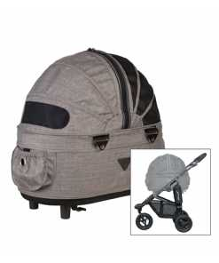 Airbuggy hondenbuggy dome2 sm met rem earth bruin