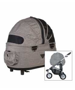 Airbuggy hondenbuggy dome2 sm earth bruin