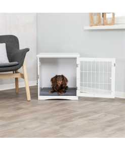 Trixie benche home kennel hond / kat wit