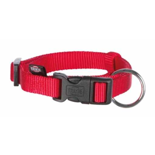 Trixie halsband hond classic rood